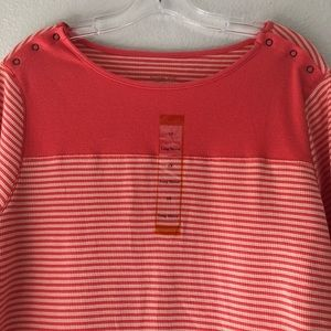 3 for $ 25 NorthCrest Striped Shirt in size 1X